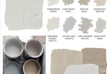 paint colors / by Autumn Clemons