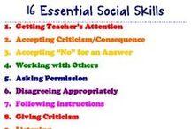 SLP Ideas - Social Skills / by Allison Henning