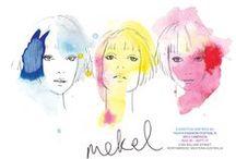 MEKEL my illustrations and work / Latest illustrations and art work / by Mekel Fashion Illustration