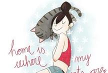 cute illustration / by Watinee Jitwijarn