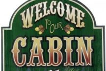 ...cabin... / by Megan Caldwell