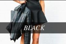 BLACK / A go-to wardrobe staple, black goes with everything. / by Hudson's Bay