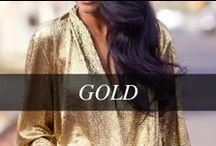 GOLD / There's nothing as good as gold! / by Hudson's Bay