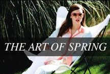 SPRING 2014 / Celebrate the Art of Spring with us as we show you how to wear the season's best trends. #TheArtofSpring / by Hudson's Bay