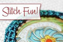Hand Embroidery Stitches / A Collection of Great Hand Embroidery Stitch Tutorials / by Mary Corbet