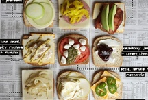 Grilled Cheese Extravaganza! / Come over for grilled cheese.  Not just any grilled cheese though! / by Lisa M