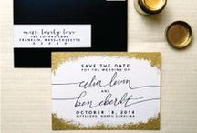 Pretty Paper /  A collection of great wedding invitations, save the dates, programs, escort cards and more. / by Wouldn't it be Lovely