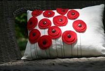 Throw pillows  / by Candace Ginos