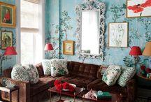 L I V E L Y * L I V I N G * R O O M S / by Catherine M. Austin Interior Design