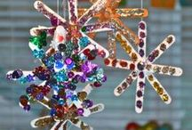 Kids Christmas Ornament Crafts / Easy Christmas ornaments kids can make! / by B-Inspired Mama