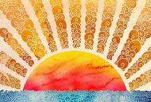 Believe in sunshine... / by Noémi Privé