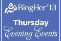 Unofficial #BlogHer13 / Excited Bloggers posting updates, news, posts, and resources about #BlogHer13! / by Elaine Griffin