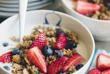 morning / We love breakfast - the only catch is, we haven't bought a box of cereal in years! Favourites at our place include muesli, eggs & pancakes - as long as it's made with love! / by Équilibre