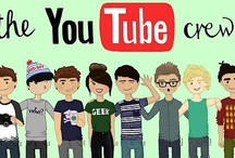 The Youtube Crew <3 (yes they deserve their own board) / by Caroline Attayek