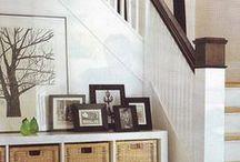 interiors - Entry, Stairway / by Deborah