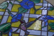 stained glass and mosaic / by Mary Homann
