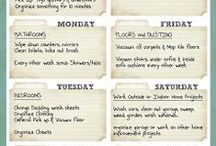 Cleaning - Cleaning Chart / by Dianne Faulk
