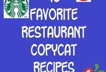 Food: Copycat Foods / by Dianne Faulk