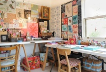 work space  / by ℂlaire Winchester