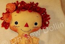 Rag dolls / by Mary Homann