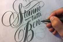 Lettering / by Rachel Larsen