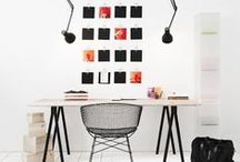 Workspace / Chic, organized, and unique workspaces / by Monika Siauw