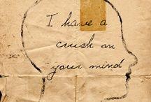 Words, Words, Words. / by Raye Reeder