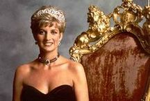 "Princess Diana / ""Some remember Diana as that vulnerable, abused woman. I see Diana as a warrior! A mother, a woman who took on governments, a woman who fought her own internal battles, a woman who took on the paparazzi, a woman who took on causes that not even the Pope did. That woman kicked BUTT!"" - Submitted by Anonymous / by Karen Gambrel"