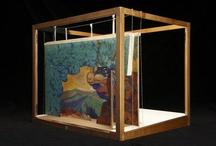 Maquettes/Une cinquantaine de maquettes de décor en volume, conservées à la Bibliothèque-musée de l'Opéra, sont accessibles dans Gallica : http://bit.ly/XnalmB..., par GallicaBnF