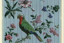 Papiers peints / Wallpapers / Retrouvez plus de 1500 papiers peints dans Gallica : http://bit.ly/19Cv1x0 / by GallicaBnF
