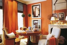 living room ideas / I have a long LR/DR combo, with north-facing windows. I love the style it has now, but it will soon be time for a change... / by Robin Zaleski