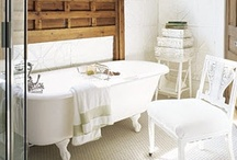 I want a bath / The bathtub in my apartment is tiny. So I fantasize about big dreamy tubs. A lot. / by Robin Zaleski