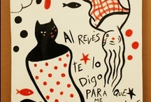 illustration on ceramics / illustration on ceramics. Illustrated ceramics. / by Carmen Garcia Gordillo