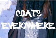 Coats everywhere! - RE ARMA DE INVIERNO  / Looks realizados con prendas de nuestras últimas colecciones F/W con 50% OFF! Votá tus looks preferidos para obtener descuentos extras durante el fin de semana. / by Bellmur