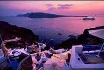 Esperas Hotel Santorini / Come to the best sunset location on the planet! www.esperas.com / by Esperas Santorini Hotel