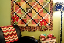 Displaying Quilts / by Sherry Meeks