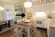 Kitchens / by The Ironstone Nest