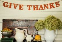 Fall Decor / by The Ironstone Nest