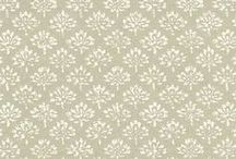Textiles/Paint/Wallpaper / by lovelylittleparties