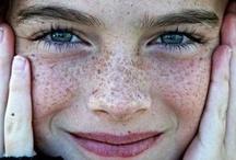 Freckles / by Sandy (Girlyfrog) Eyler