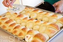 Oh Yum....Breads / by Sandy (Girlyfrog) Eyler