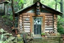 cabins...and / magical places to escape to  / by Carrie Hoffman Jewelry