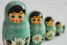 Nesting Dolls / by Peggy Wild