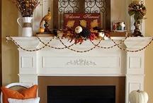 fireplace decor  / by Jen