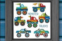 Transportation Cross Stitch / by Pinoy Stitch