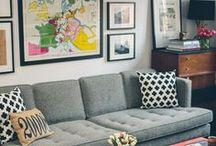 Living Area.  / by Elizabeth Micheletti