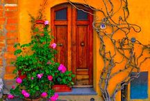 Love Doors and ARTitecture / Wonderful color and artsy ideas of architecture and color.  / by Carleen Sabin