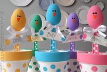 Easter crafts / by Suzys Sitcom