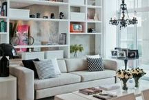 Living Rooms / Ideas for living rooms in my future home or apartment. / by Amanda Trudy