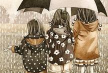 Raindrops and balloons..... / by Nadine Magruder-Moen